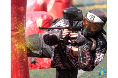 Paintball battle in shabla – for eight people
