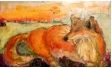 """Подарете изкуство! - Картината """"Лисица Марс"""" на Дари Савова"""