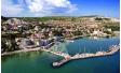 Професионална фотосесия на луксозна моторна яхта от пристанище Балчик