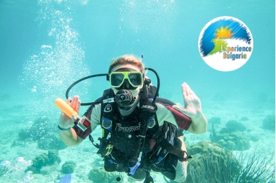 Гмуркане с акваланг за неводолази + професионално заснемане