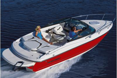 Разходка с моторна лодка MONTEREY FSC 224 до голф игрищата в близост до Балчик