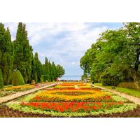 Ботаническата градина в Двореца - Балчик