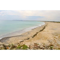 Южният плаж на Дуранкулак и нос Карталбурун