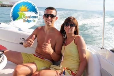 Романтична разходка за двама с моторна лодка по Северното Черноморие