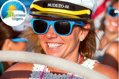 Моминско парти на моторна лодка Monterey 224 FSC