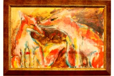 """Подарете изкуство! - """"Влюбени лисици"""" на Дари Савова"""